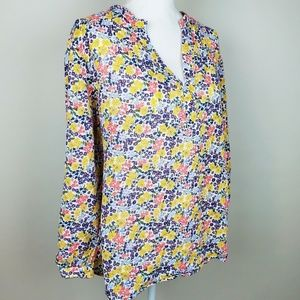 Old Navy The Tunic Shirt Floral Top XXL